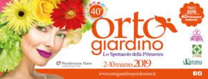 Orto Giardino, Fiera di Pordenone 02-10 marzo 2019
